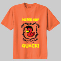QUACK! Youth T-shirt w shield logo  - 100% Youth Cotton Tee