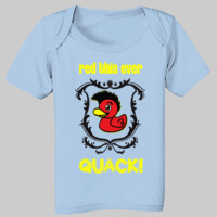 QUACK! Infant lap shoulder t-shirt