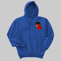 QUACK! Adult hoodie front/back